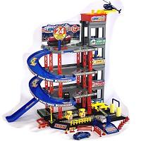 Parkgarage Spielzeug Kinder Autogarage Parkhaus Garage incl. Spielzeugautos SET
