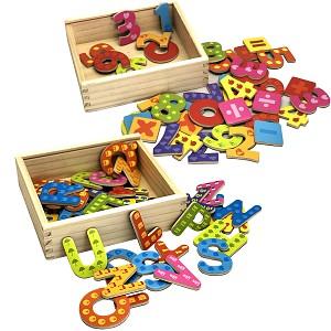 Set Magnet - Buchstaben und Zahlen