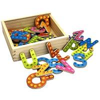 Magnetbuchstaben 37 teilig lesen schreiben lernen