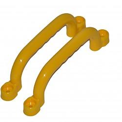 Handgriffe Griffe 2 Stück incl. Schrauben gelb