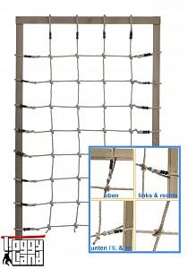 Kletternetz 125x200cm - natur