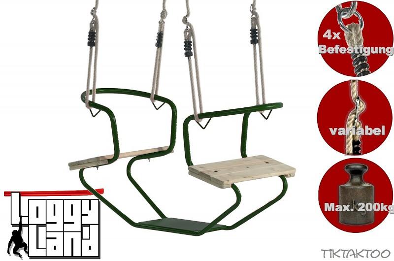 Doppelschaukel Metall Doppelsitzschaukel Gesicht Zu Gesicht Tiktaktoo