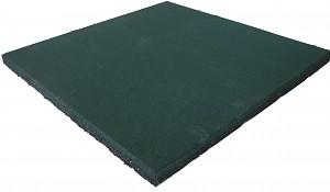 Fallschutzmatte Gummimatte grün 25 mm