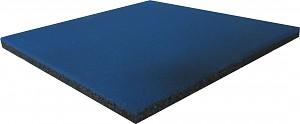 Fallschutzmatte Gummimatte blau 25 mm