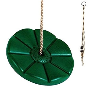 Tellerschaukel aus Kunststoff, grün