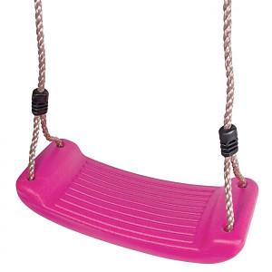 Schaukelsitz aus Kunststoff - pink