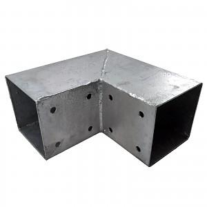 Holzverbinder, Eckverbinder, Pfostenverbinder für 2 x Kantholzbalken 90 x 90 mm