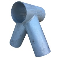 Schaukelverbinder für Rundholz Ø 100/80 mm