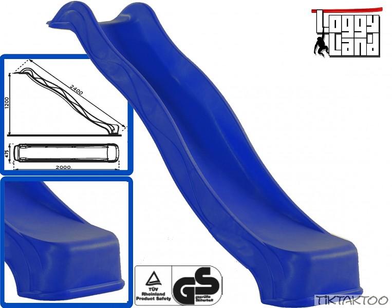 rutsche f r spielturm kletterturm wellenrutsche anbaurutsche rutschbahn 3m ausw ebay. Black Bedroom Furniture Sets. Home Design Ideas