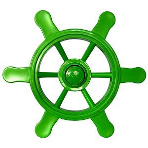Piratenlenkrad apfelgrün für Spielschiff, Kletterturm & Co. die Spielturmzubehör für jeden Käptn