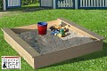 Loggyland Natural Wood Sandpit