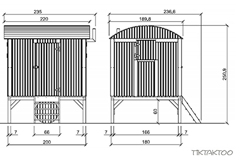 stelzenhaus spielturm holz kletterturm spielhaus baumhaus. Black Bedroom Furniture Sets. Home Design Ideas