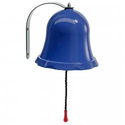 Schiffsglocke Glocke für Spielturm o. Spielhaus blau