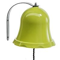 Schiffsglocke Glocke für Spielturm o. Spielhaus apfelgrün