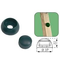 10er Set Abdeckkappen 8-10mm grün