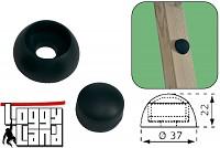 10er Set Abdeckkappen 8-10mm schwarz