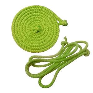 Gymnastik-Springseil  2,80m apfelgrün