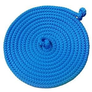 Gymnastik-Springseil  5,00m blau