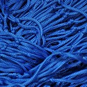 Deko Netz 2m x 2m blau Maschenweite 50 x 50mm PP