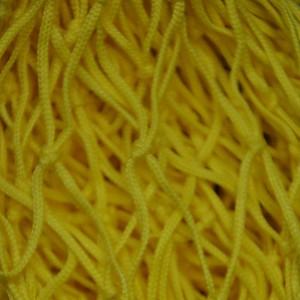 Deko Netz 2m x 3m gelb Maschenweite 50 x 50mm PP