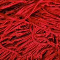 Deko Netz 1m x 2m rot Maschenweite 50 x 50mm PP
