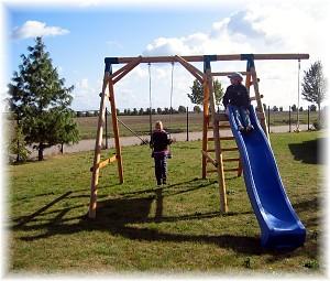 LoggyLand Spielplatz Set ULTIMATE Höhe: 2,10m