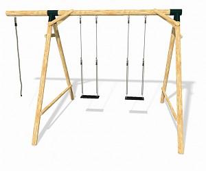 LoggyLand Spielplatz Set BOUNCE Höhe: 2,10 m