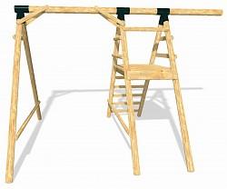 LoggyLand Grundgerüst für das Spielplatz Set ULTIMATE Höhe: 2,10m