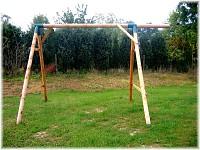LoggyLand Grundgerüst für das Spielplatz Set BOUNCE Höhe: 2,10 m