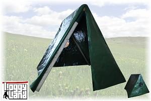 LoggyLand - Kleinkind-Schaukelgestell inkl. Zelt