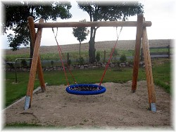 Bird`s Nest Swing Set Ø 120 cm