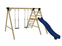 LoggyLand Spielplatz Set ULTRA Höhe: 2,60 m