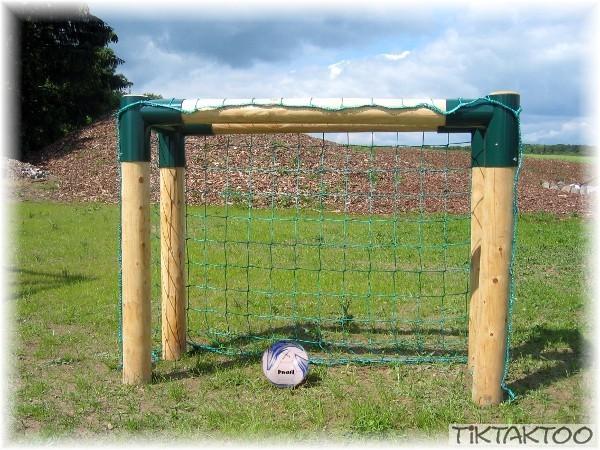 Fussballtor Bolzplatztor Holz Fussball Tor Extra Massiv