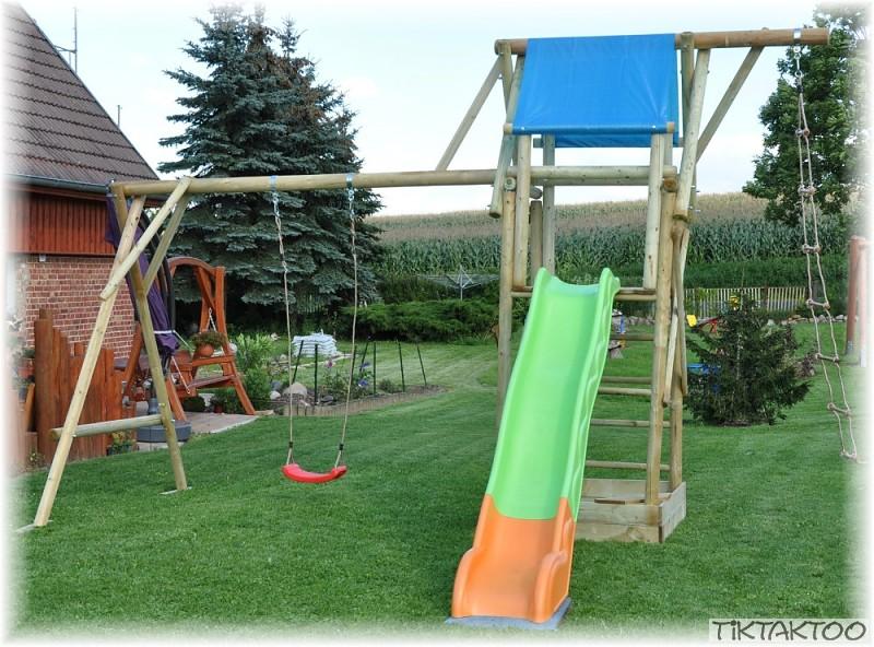 kletterturm spielturm m rutsche sandkasten kletterleiter. Black Bedroom Furniture Sets. Home Design Ideas