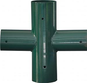 LoggyLand 4er Flächenkupplung Rohrverbinder Schaukelverbinder Rohrverbindungsstück