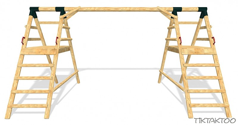 schaukelger st schaukelgestell schaukel spielturm schaukelsitz l rchenholz holz. Black Bedroom Furniture Sets. Home Design Ideas