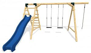 LoggyLand Spielplatz Set HAPPY