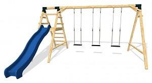 LoggyLand Spielplatz Set MAXIMUM