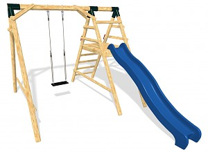 LoggyLand Spielplatz Set MEDIUM