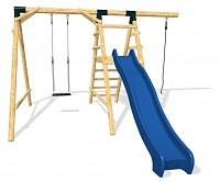 LoggyLand Spielplatz Set ULTIMATE Höhe: 2,60m