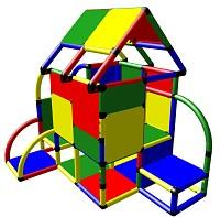 Moveandstic Luca - großes Spielhaus mit Dach