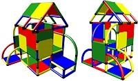 Moveandstick Luca Großes Spielhaus mit Dach