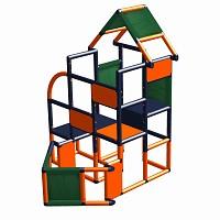 Move and stic Frieda - Motorboot Schiff in orange titangrau