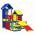 Moveandstic Luise - Spielturm mit Kleinkindrutsche