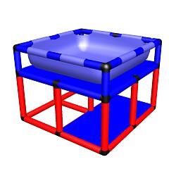 Moveandstic  Wasserspieltisch Modell 2 85x85x65cm