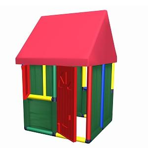Spielhaus Nr. 1 mit Tür und Fenster