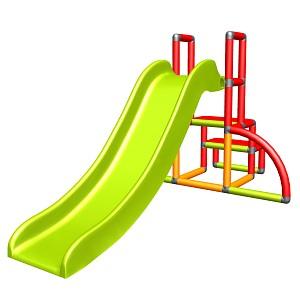my first Slide Alma Meine erste Rutsche rot orange gruen Babyrutsche mit Einstiegsset Easy Gartenrutsche MAS Kinderrutsche