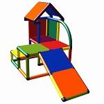 Moveandstic Mila - mein kleines Haus mit Schräge multicolor