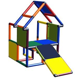 Moveandstic Noel - Spielrampe, Haus mit Kleinkindschräge multicolor