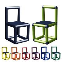 Moveandstic Finja-Stuhl Kinderstuhl für Sitzgruppe